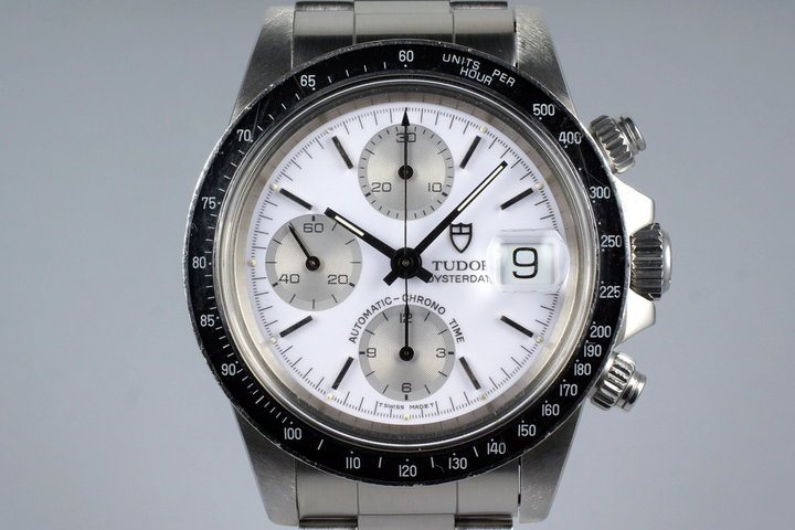 33c8c657b 1994 Tudor Chronograph Big Block 79160 White Enamel Dial photo