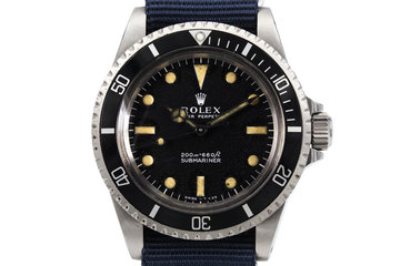 1967 Rolex Submariner 5513 Meters First photo