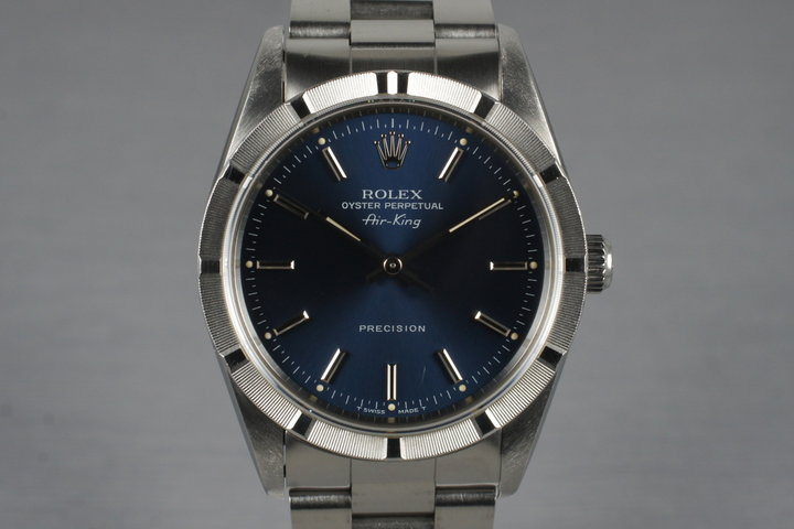 1994 Rolex Air-King 14010 Blue Dial photo