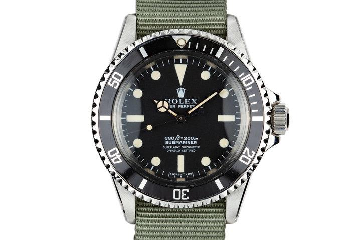 1975 Rolex Submariner 5512 photo