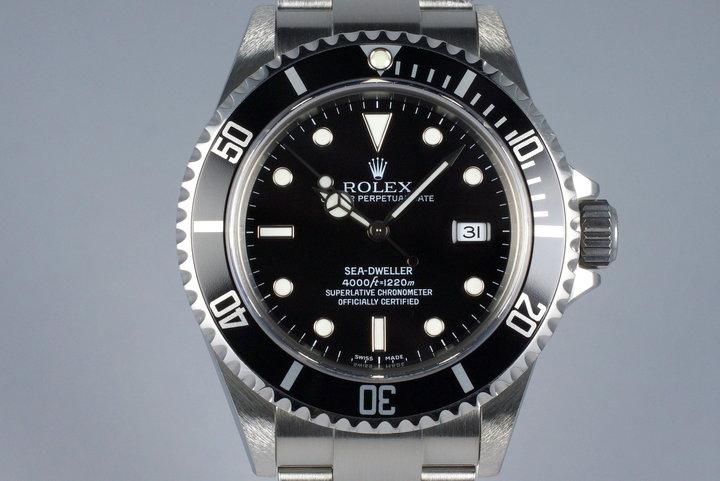 2007 Rolex Sea Dweller 16600 photo