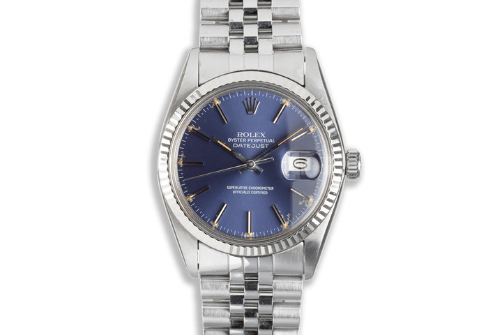 1979 Rolex Datejust 16014 with Tropical Blue Dial photo