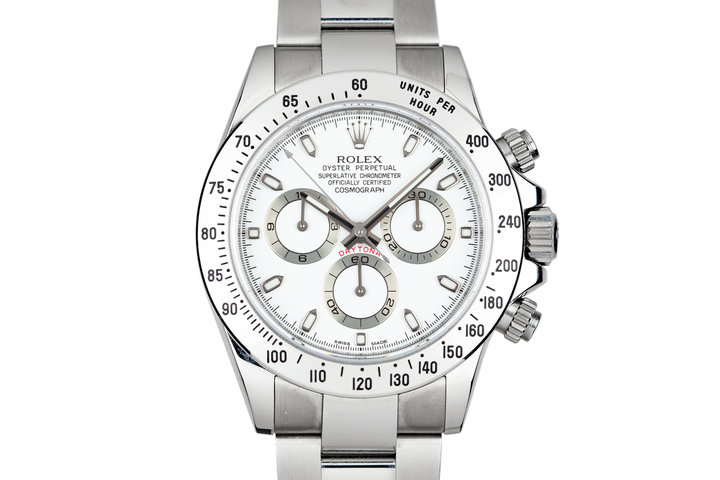 2009 Rolex Daytona 116520 White Dial with Box and Papers photo