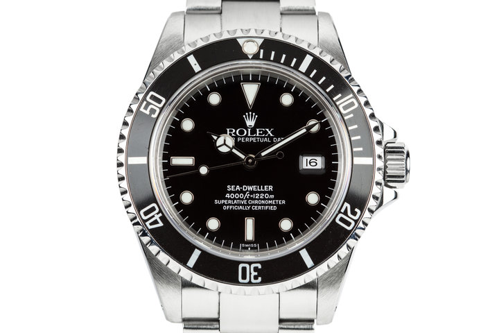 1999 Rolex Sea-Dweller 16600 with SWISS Only Dial photo