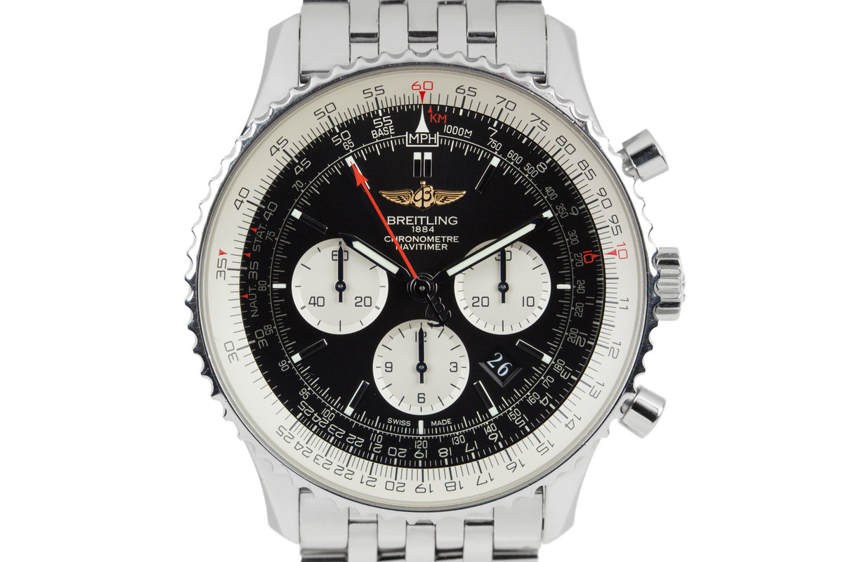 Breitling Navitimer 01 Panda Dial with Box and papers photo, #0