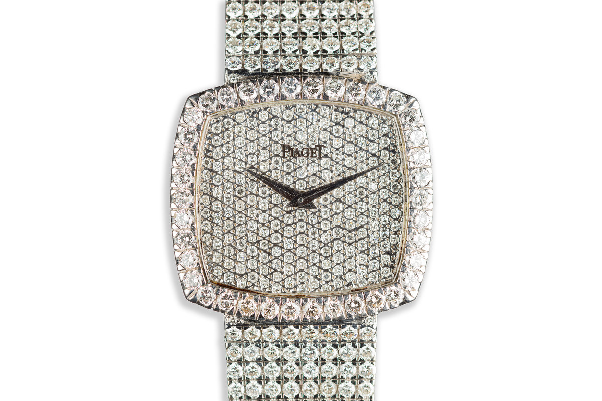 Piaget 18K White Gold with 16 Carat of Diamonds photo, #0