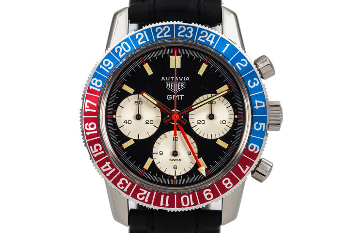 Heuer Autavia GMT 2446C with Box photo