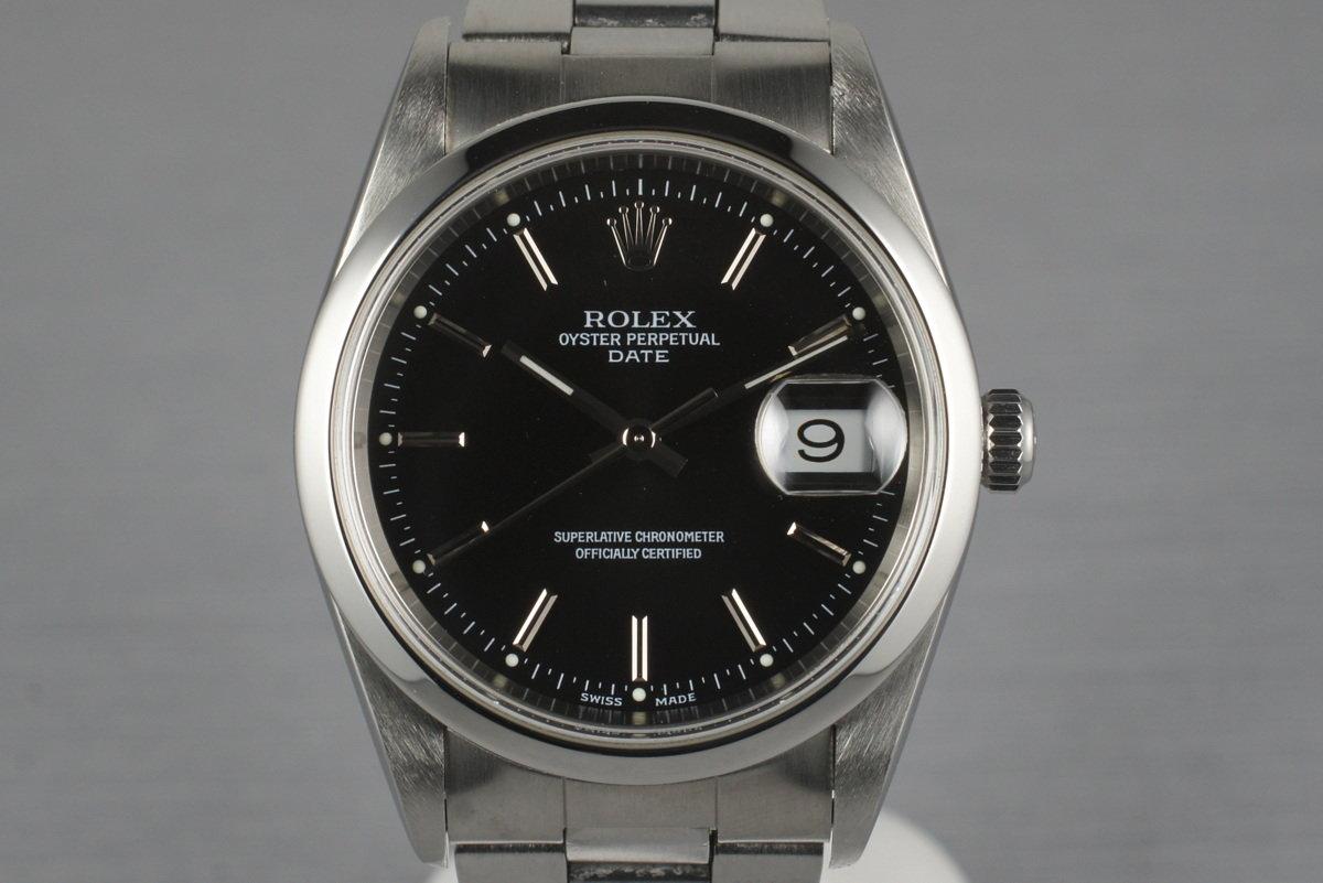 2001 Rolex Date 15200 photo, #0