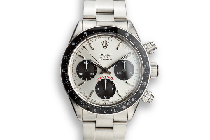 "1980 Rolex Daytona 6263 Silver ""Big Red"" Dial with Papers and Service Papers photo"