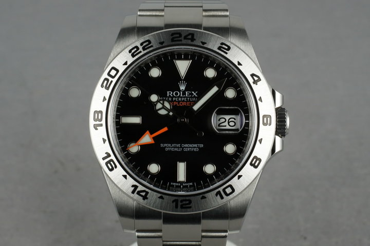 2013 Rolex Explorer II 216570 photo