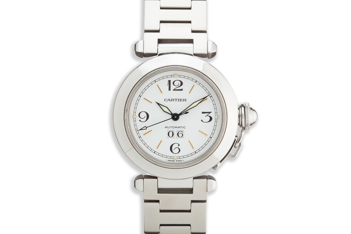 Cartier Pasha 2475 White Dial photo, #0