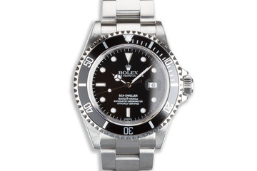 1999 Rolex Sea-Dweller 16600 with Box & Papers photo