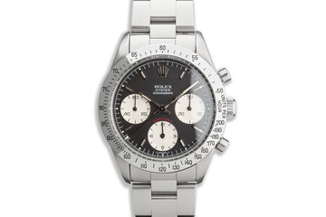 1974 Rolex Daytona 6262 Black Dial with Box and Papers photo
