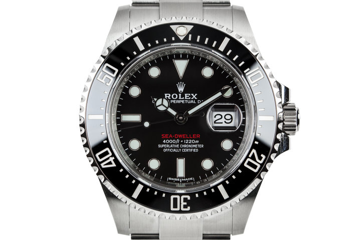 2017 Rolex Sea-Dweller 126600 with Ceramic Bezel and Box and Papers photo