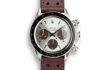 1974 Rolex Daytona 6263 Silver Dial with Tropical Sub Dials photo
