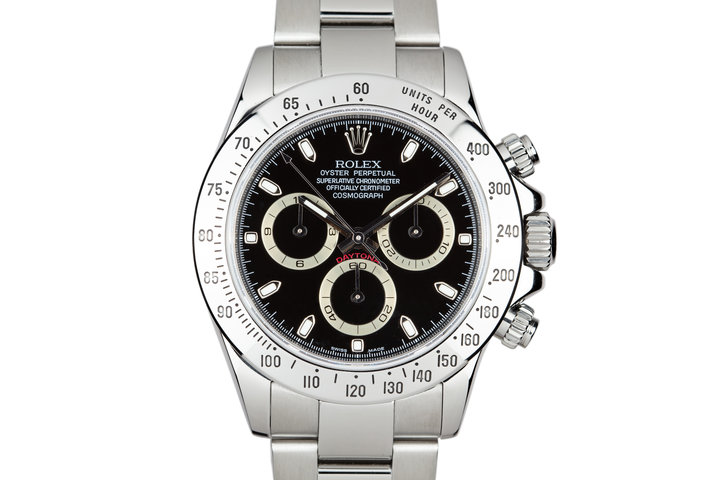 2007 Rolex Daytona 116520 Black Dial with Box and papers photo