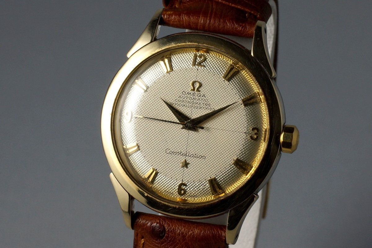 1950's Omega Gold Shell Constellation 2652-5 Calibre 354 photo, #2
