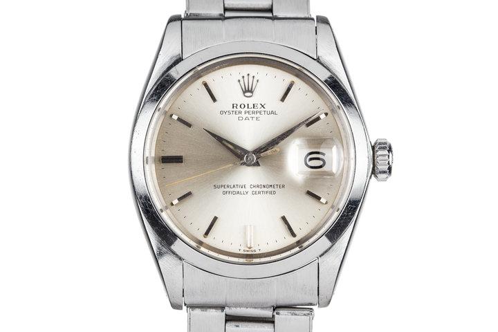 1964 Rolex Date 1500 Silver Dial photo