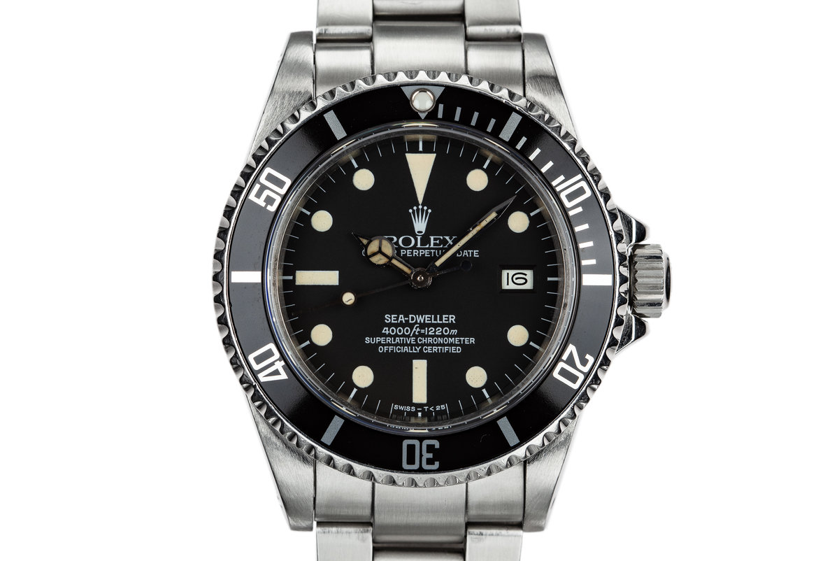 1980 Rolex Sea-Dweller 16660 with Matte Dial photo, #0