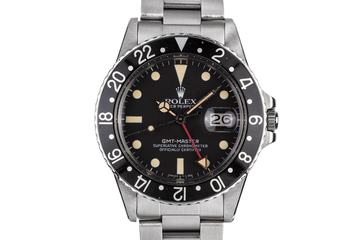 1984 Rolex GMT-Master 16750 photo, #0