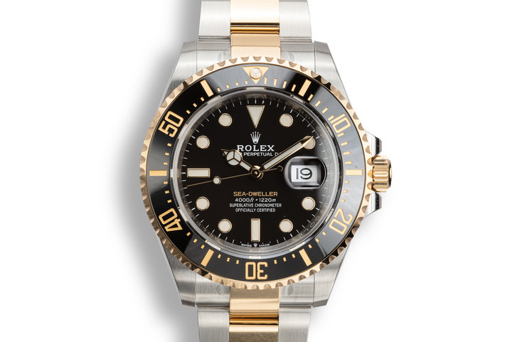 Mint 2019 Rolex Two-Tone Sea-Dweller 126603 with Box and Papers photo