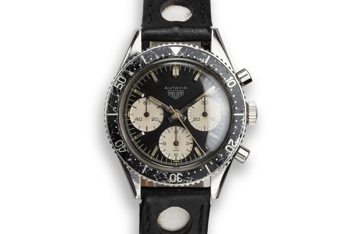"Heuer Autavia 2446 M ""Jochen Rindt"" Just Serviced with Papers photo, #0"