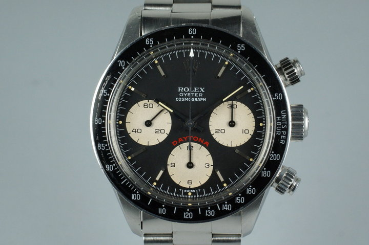 1985 Rolex Daytona 6263 Big Red Daytona Dial with Receipt photo