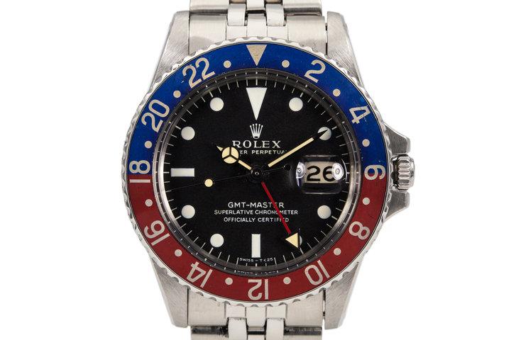 1967 Rolex GMT 1675 photo