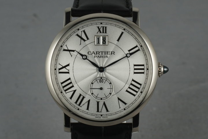 2009 Cartier Cartier Privee Rotande 18K WG  W1550751 photo
