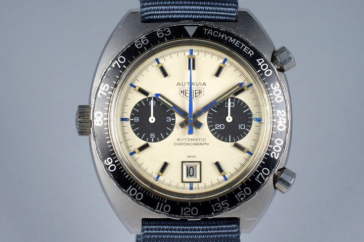1970's Heuer Autavia 1163 T with 'Siffert' Dial photo
