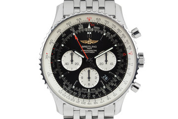 Breitling Navitimer 01 Panda Dial with Box and papers photo
