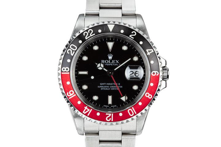 "1999 Rolex GMT-Master II 16710 ""Coke"" photo"