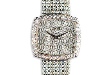 Piaget 18K White Gold with 16 Carat of Diamonds photo