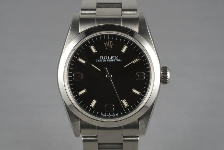 1997 Rolex Oyster Perpetual Mid Size 67480 with Box and Papers photo