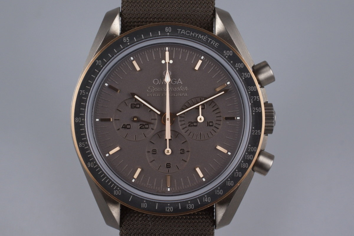 2014 Omega Speedmaster Professional Apollo 11 45th Anniversary 311.624.230.060.01 w/ Box and Paper photo, #0