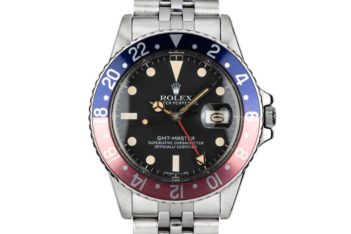 "1981 Rolex GMT Master 16750 ""Pepsi"" with Box and Papers photo"