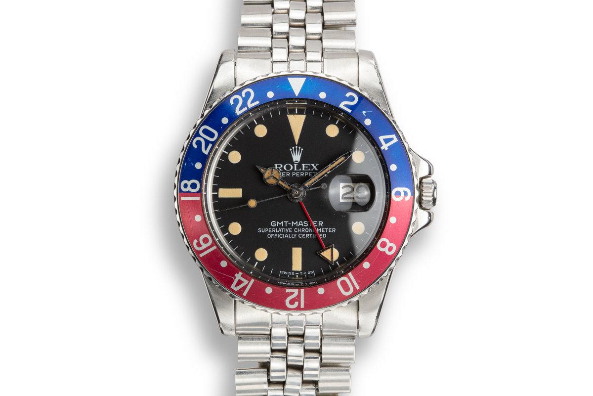 """1979 Rolex GMT Master 1675 """"Pepsi"""" photo, #0"""