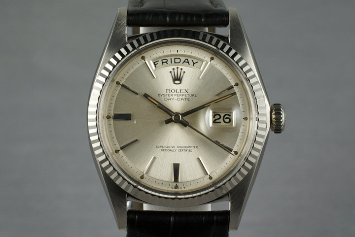 1968 Rolex WG Day-Date 1803 with Silver Dial photo