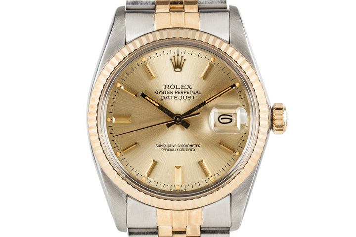 1982 Rolex Datejust 16013 with Box and Papers photo