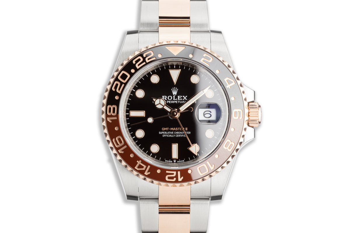 """2019 Rolex EVEROSE GMT-Master II 126711CHNR """"Root Beer"""" with Box & Card photo, #0"""