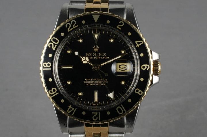 1979 Rolex Mens 16753 GMT photo