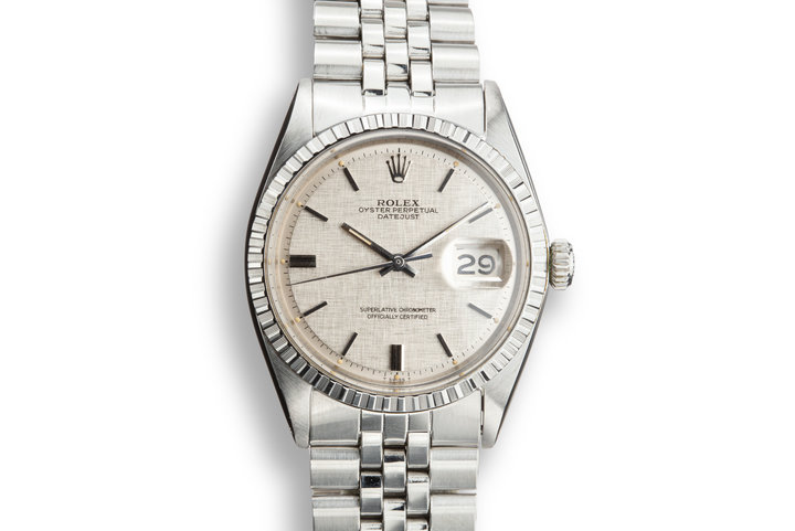 1971 Rolex DateJust 1603 with Silver Linen Dial photo