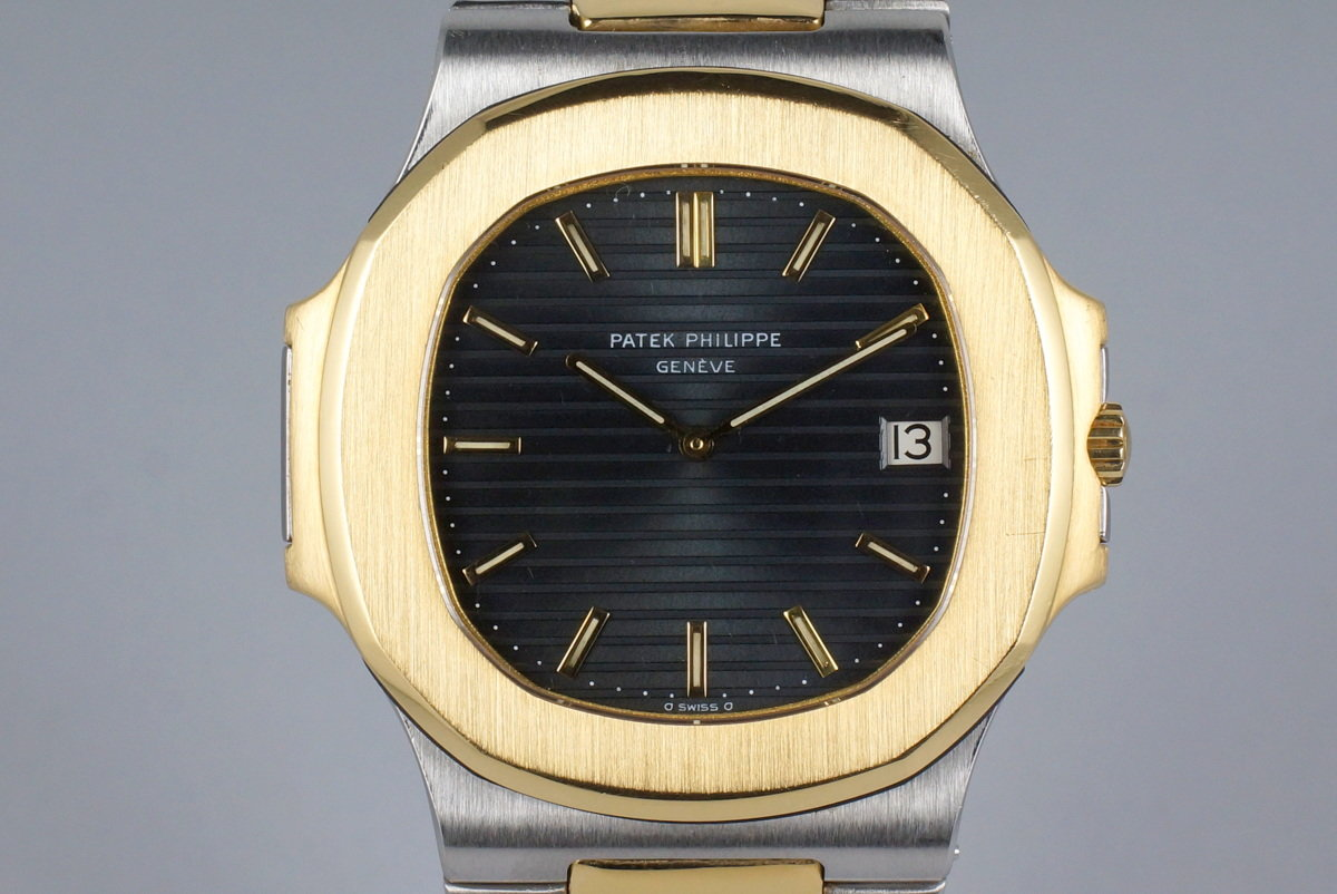 Vintage Patek Philippe Two Tone Nautilus 3700J photo, #0