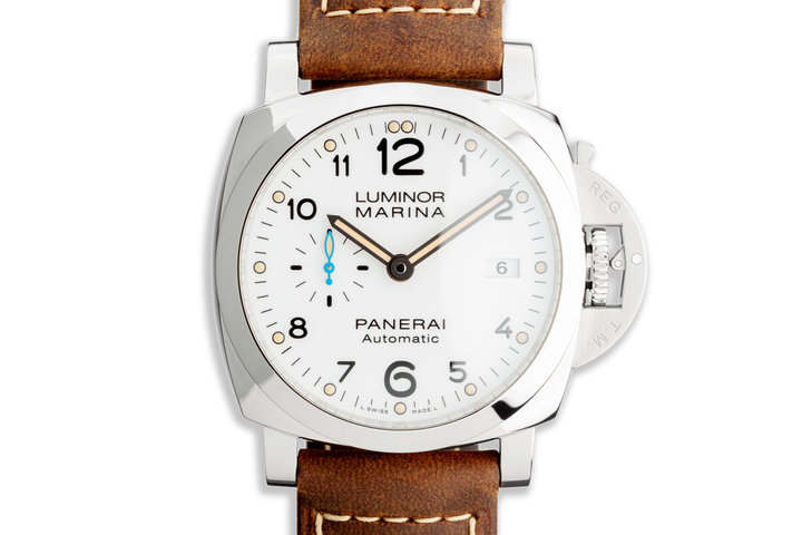 2020 Panerai Luminor Marina Pam 01499 with Box & Papers photo