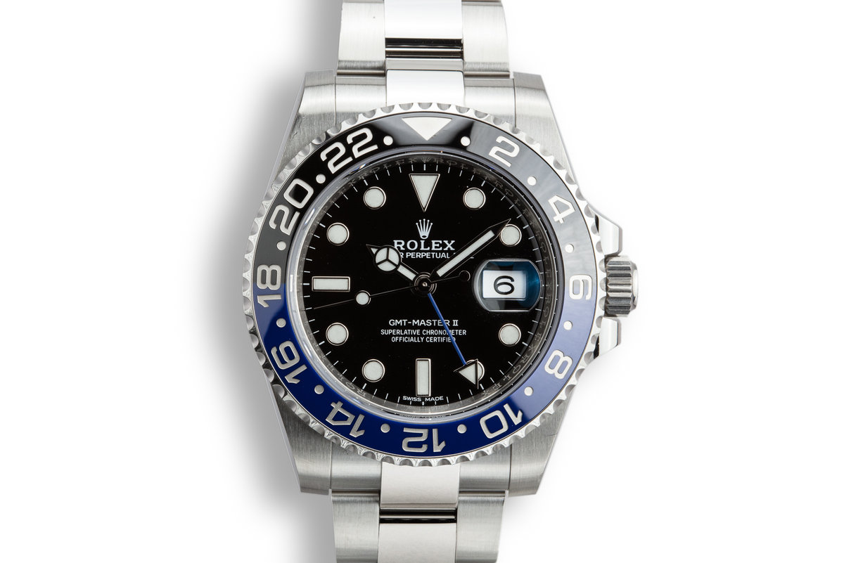 2017 Rolex GMT-Master II 116710 BLNR with Box and Papers photo, #0