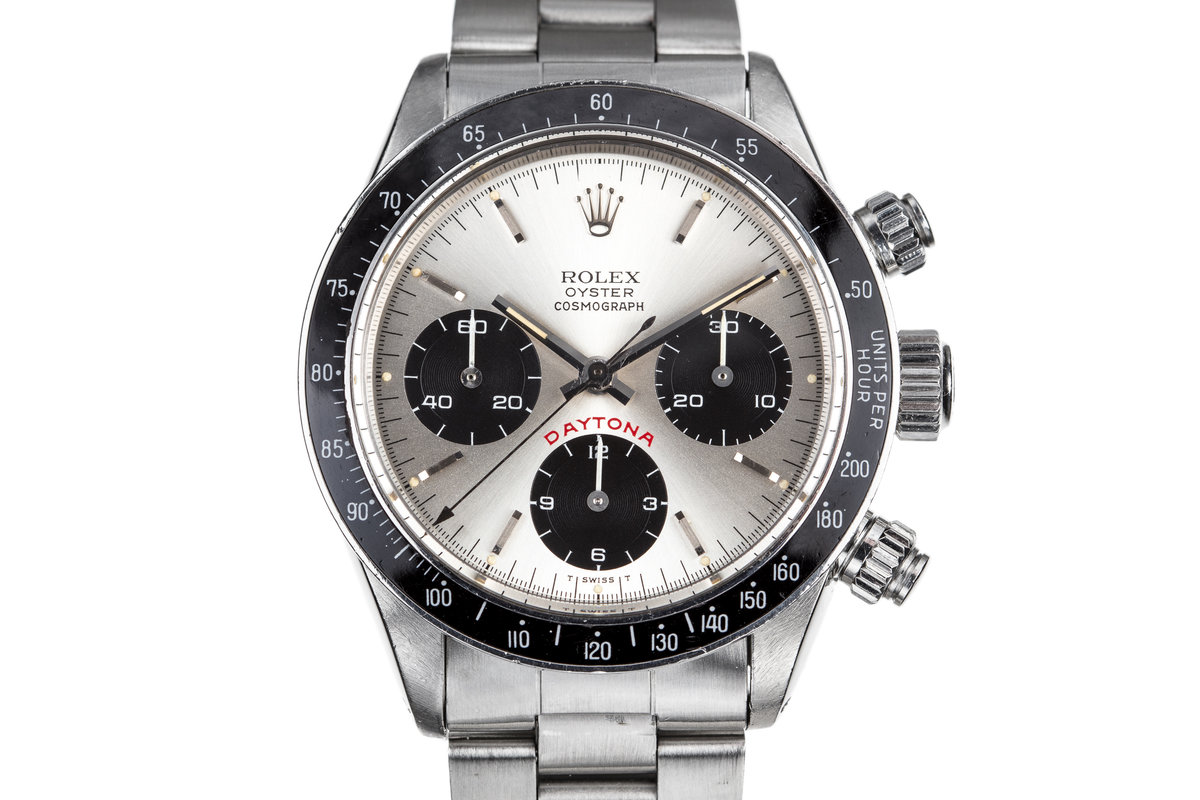 "1985 Rolex Daytona 6263 with ""Big Red"" Silver Dial photo, #0"