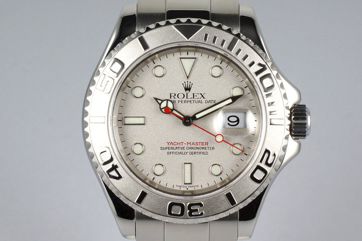 1999 Rolex Yacht-Master 16622 with Box and Papers photo