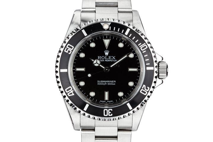 2002 Rolex Submariner 14060M photo