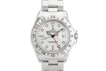 """1989 Rolex Explorer II 16570 """"Polar"""" White Dial photo"""