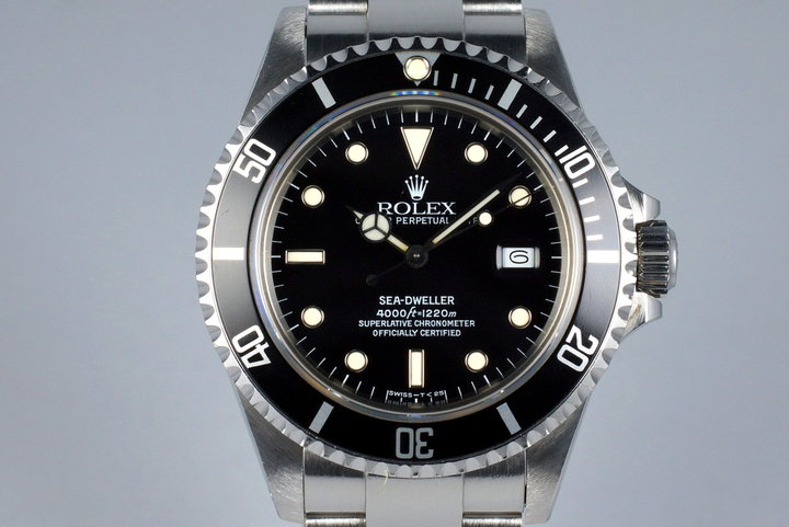 1986 Rolex Sea-Dweller 16660 photo